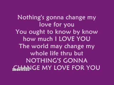 Westlife Nothings Gonna Change My Love For You Video Lyrics My