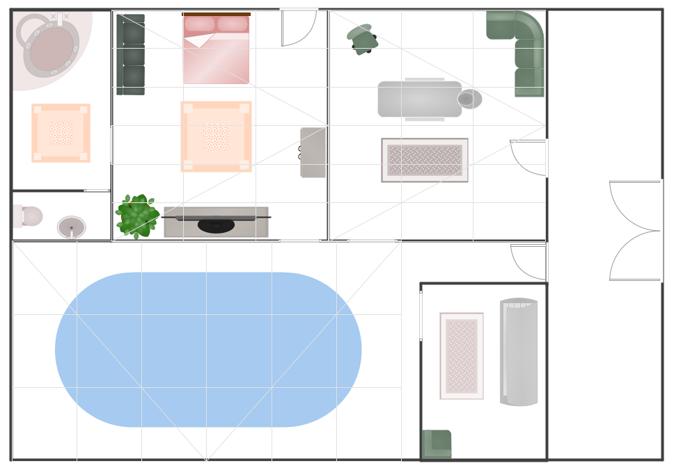 Spa Resort Plan Example Spa Design Resort Plan Floor Plans Online