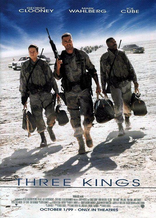 Three Kings Movie Poster - Internet Movie Poster Awards Gallery