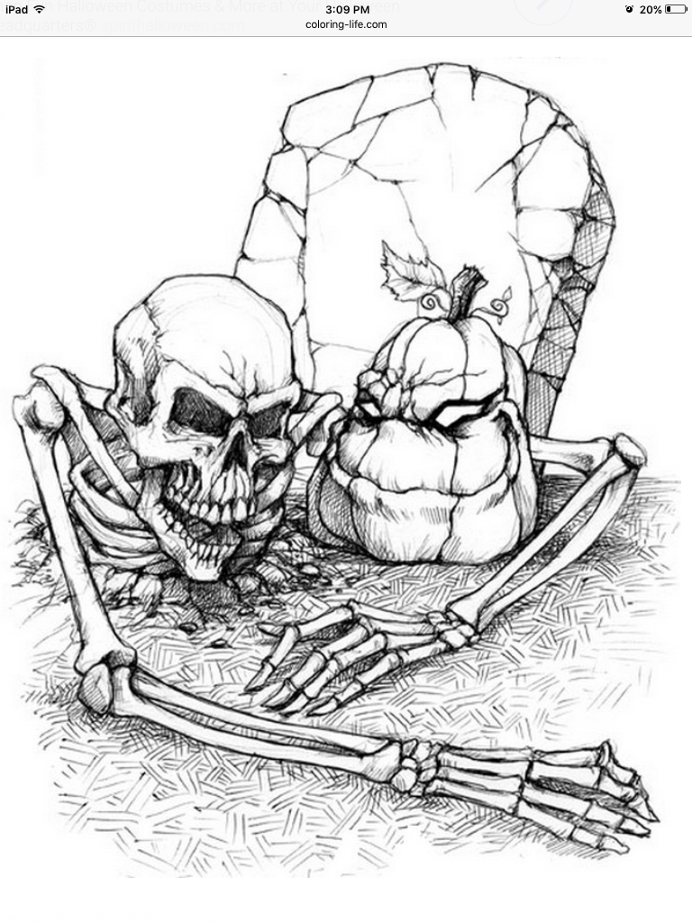 Halloween art therapy coloring pages - Adult Colouring Pages Halloween Coloring Pages Adult Coloring Coloring Books Halloween Pumpkins Skull Kitten Art Therapy Pretty