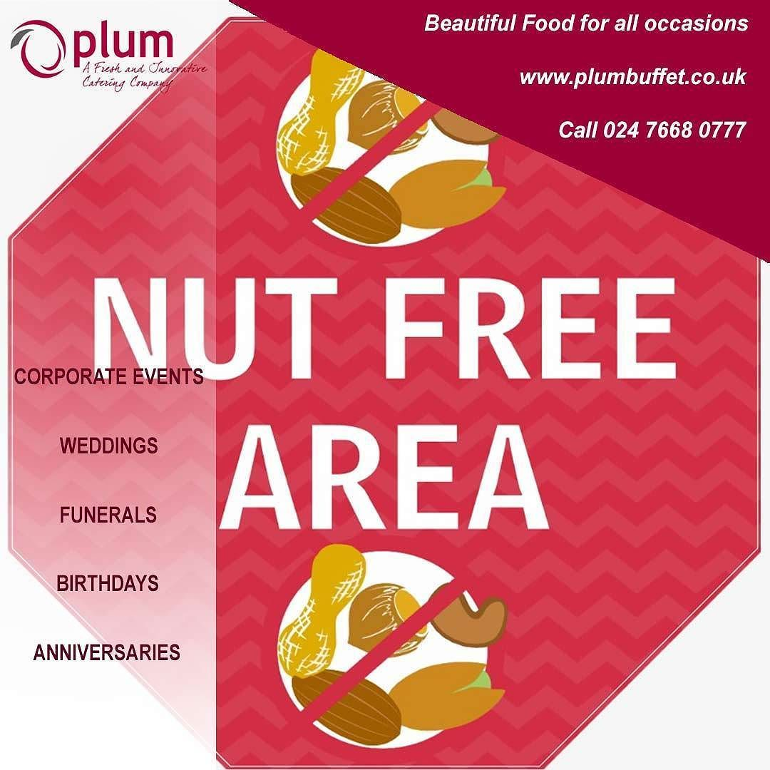 Plum Are An Exceptional Catering Company That Can Cater For All Events Everybody S Individual Needs Including Special Dietary R Buffet Catering Nut Allergies