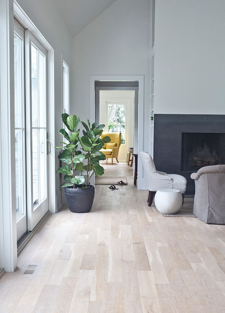 Elegant Loving This Pale Floor And White/grey/white Enfilade Ending In The Yellow  Chair   Pitt Street, Mount Pleasant