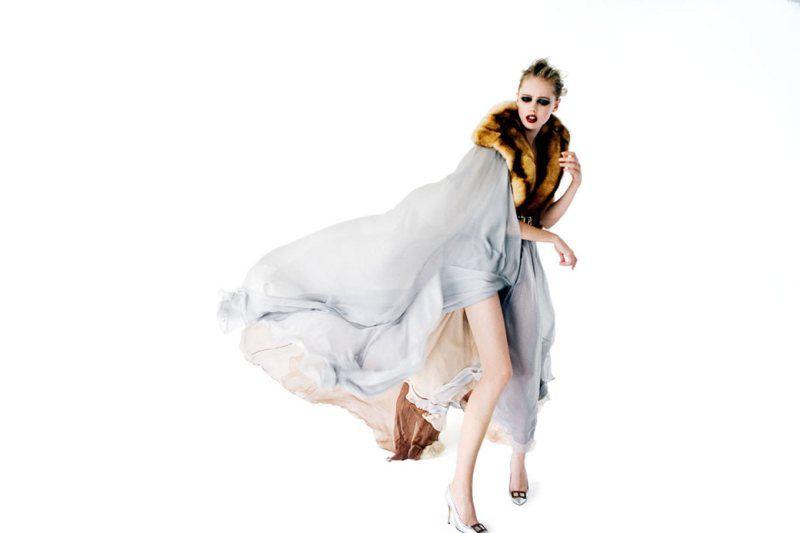 Frida Gustavsson in Jean Paul Gaultier by David K. Shields for Stil Magazine