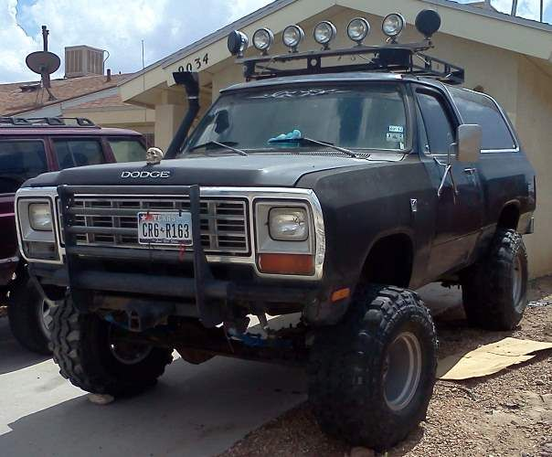 1982 Dodge Ramcharger With 6 Quot Skyjacker Suspension Lift