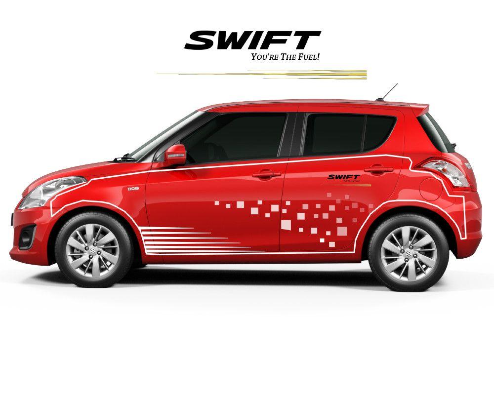 Maruti Suzuki Swift Design Body Graphics Suzuki Swift