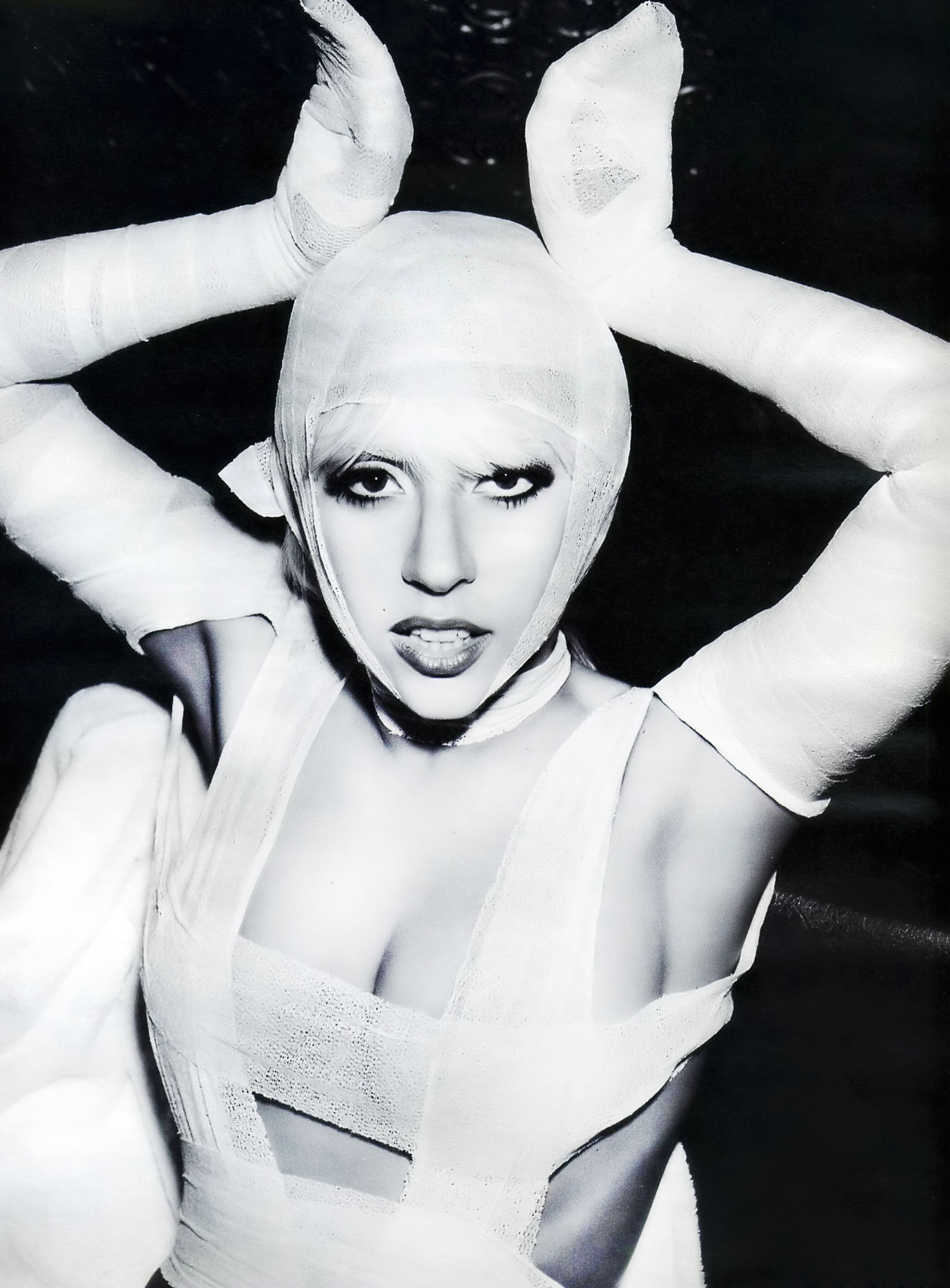Image result for lady gaga as a bunny