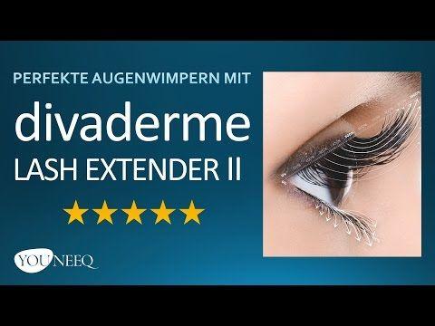 DIVADERME LASH EXTENDER II Test, Erfahrung \ Anwendung YOUNEEQ - express küchen erfahrungen