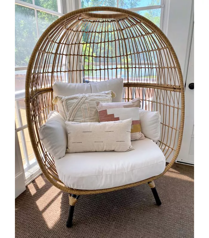 southport patio egg chair  opalhouse in 2021  wicker