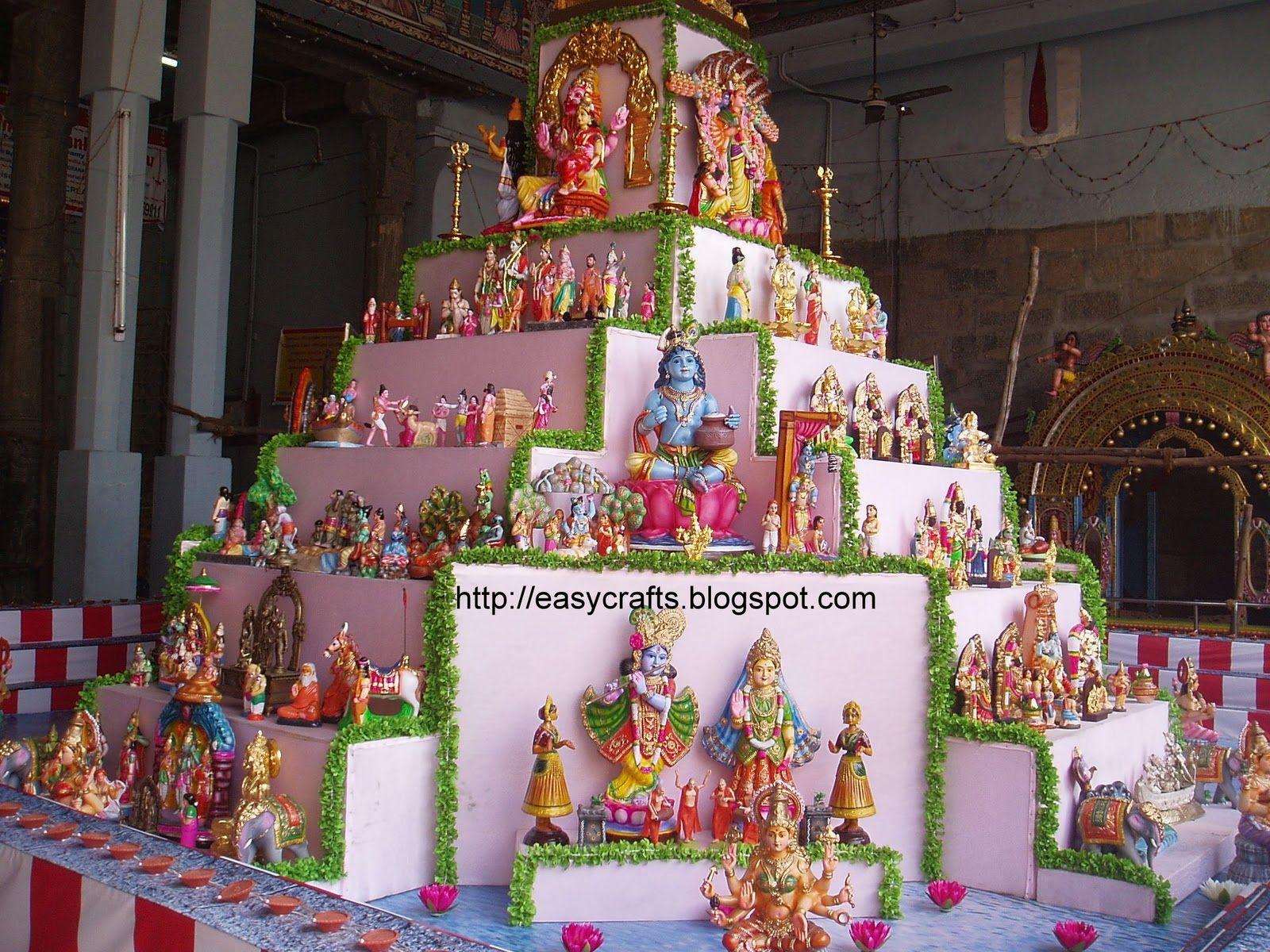 Golu Theme Ideas And Decoration Part - 28: Golu At Sri Parthasarathy Temple, Triplicane-Chennai