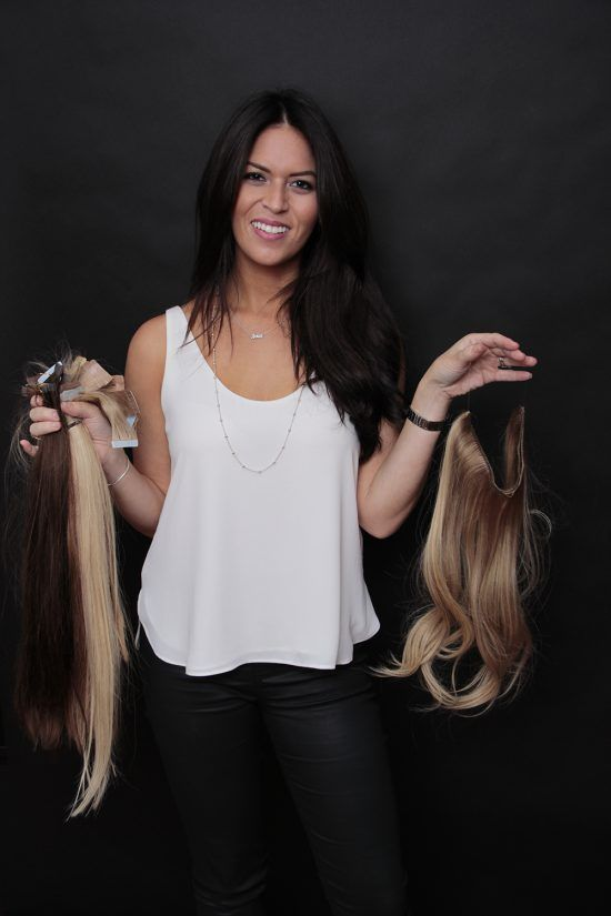 Long Island Most Comfortable Permanent Hair Extensions That Match