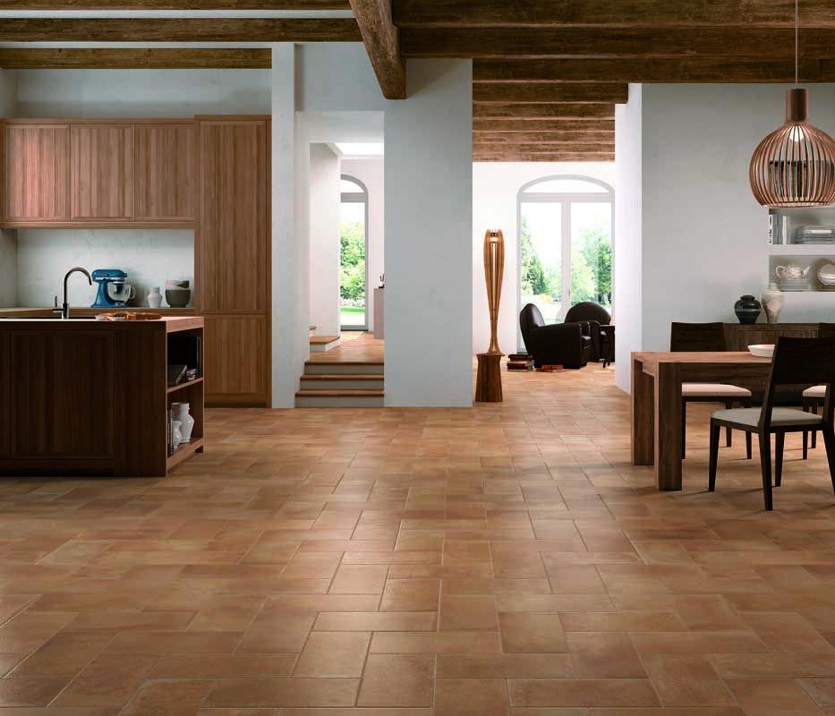 Terre Estensi By Cotto D'Este #kitchen