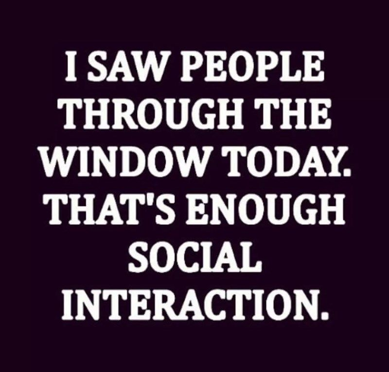 Introverted Memes For Those Who Hate Other People