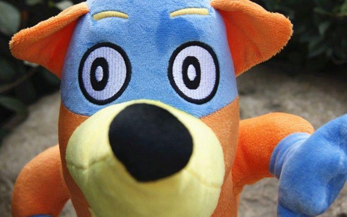 "swiper dora stuff toy | Quality Soft Plush Cute Dora the Explorer 8"" Swiper Fox Plush Doll Toy ..."