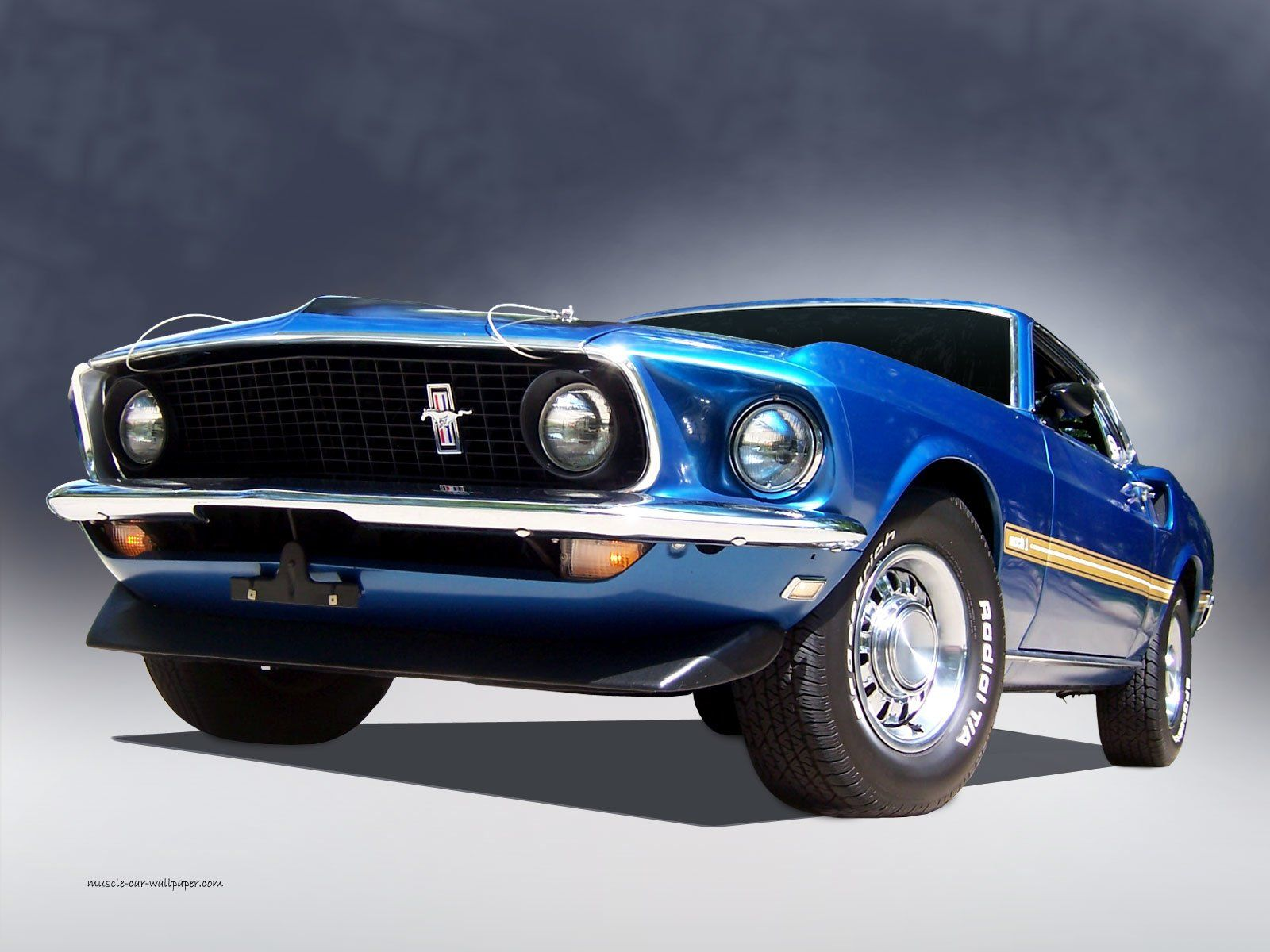 2 1969 Ford Mustang Mach 1 Hd Wallpapers Backgrounds Wallpaper