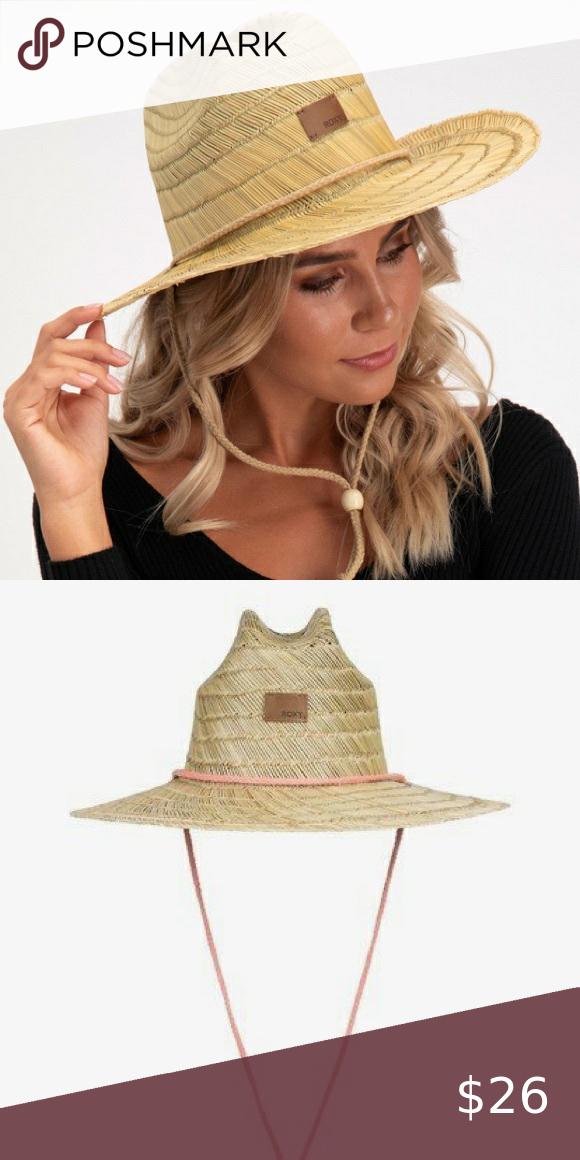 Roxy Pretty Smiles Straw Hat Straw Hat Pretty Smile Women Shopping