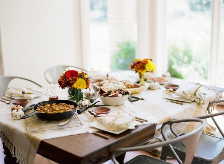 EASY FALL BRUNCH ENTERTAINING IDEAS - Daly Digs. Fall Table SettingsBrunch ... : table setting for brunch - pezcame.com