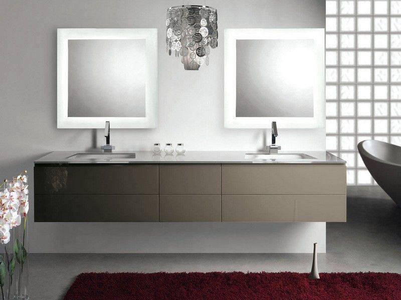 miroir salle de bain lumineux et clairage indirect en 50 ides - Eclairage Indirect Salle De Bain