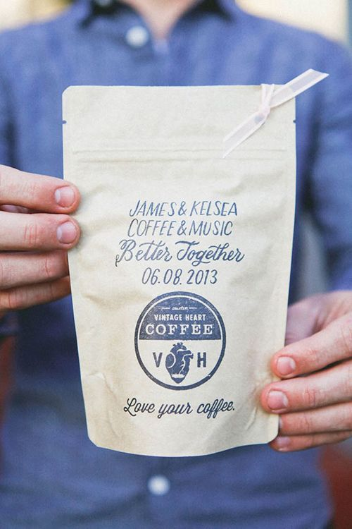 Coffee And Tea Edible Wedding Favors Pinterest Favors Wedding