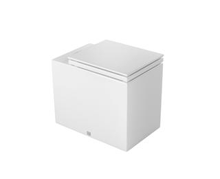 Bacia convencional ou para caixa acoplada com assento Cubo