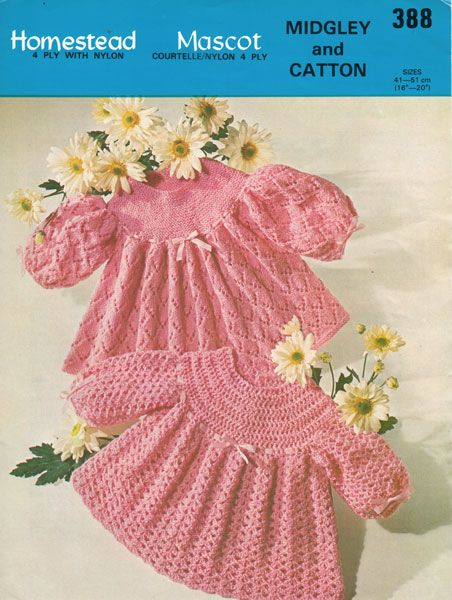 Patterns Kid Vintage Baby Clothes Knitting Patterns From The Pattern