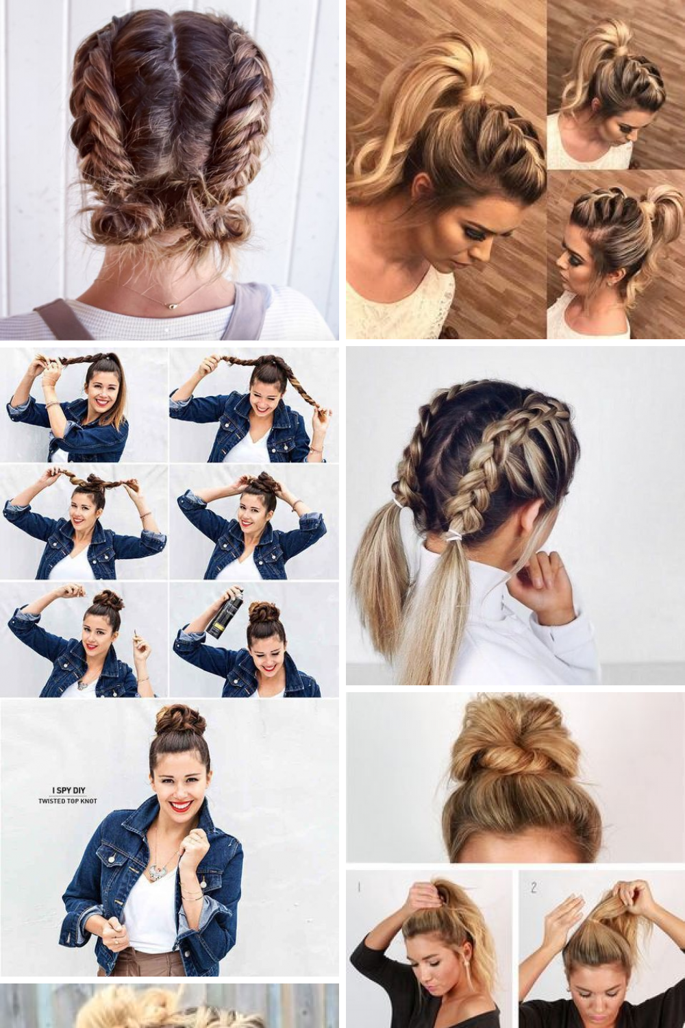 30 Cute Easy Hairstyles Updo Pictures Designs Ideas Easy Hairstyles Casual Updos For Medium Hair Girls Hairstyles Easy