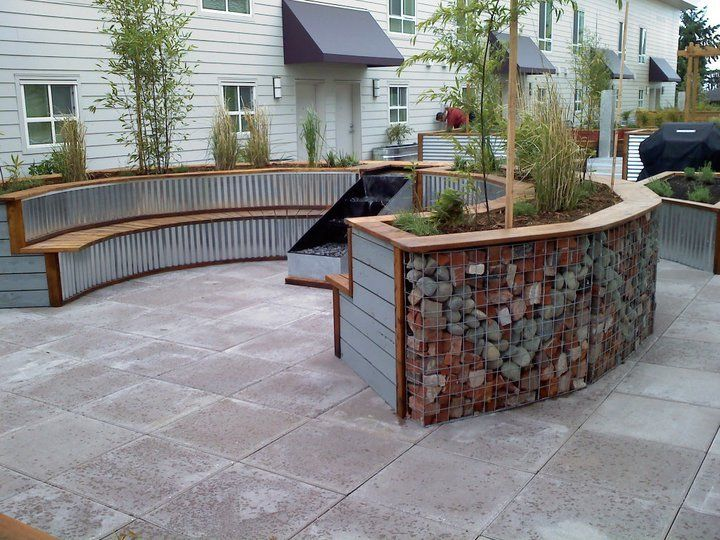 Pin by gabion 1 on gabion ideas - Low cost landscaping ideas ...