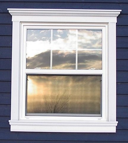 Crossheads On Exterior Windows For The Home Pinterest Window Exterior Window Trims And House