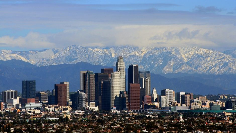 Moved To Los Angeles Five Tips For L A Newbies Moving To Los Angeles California Camping Skyline