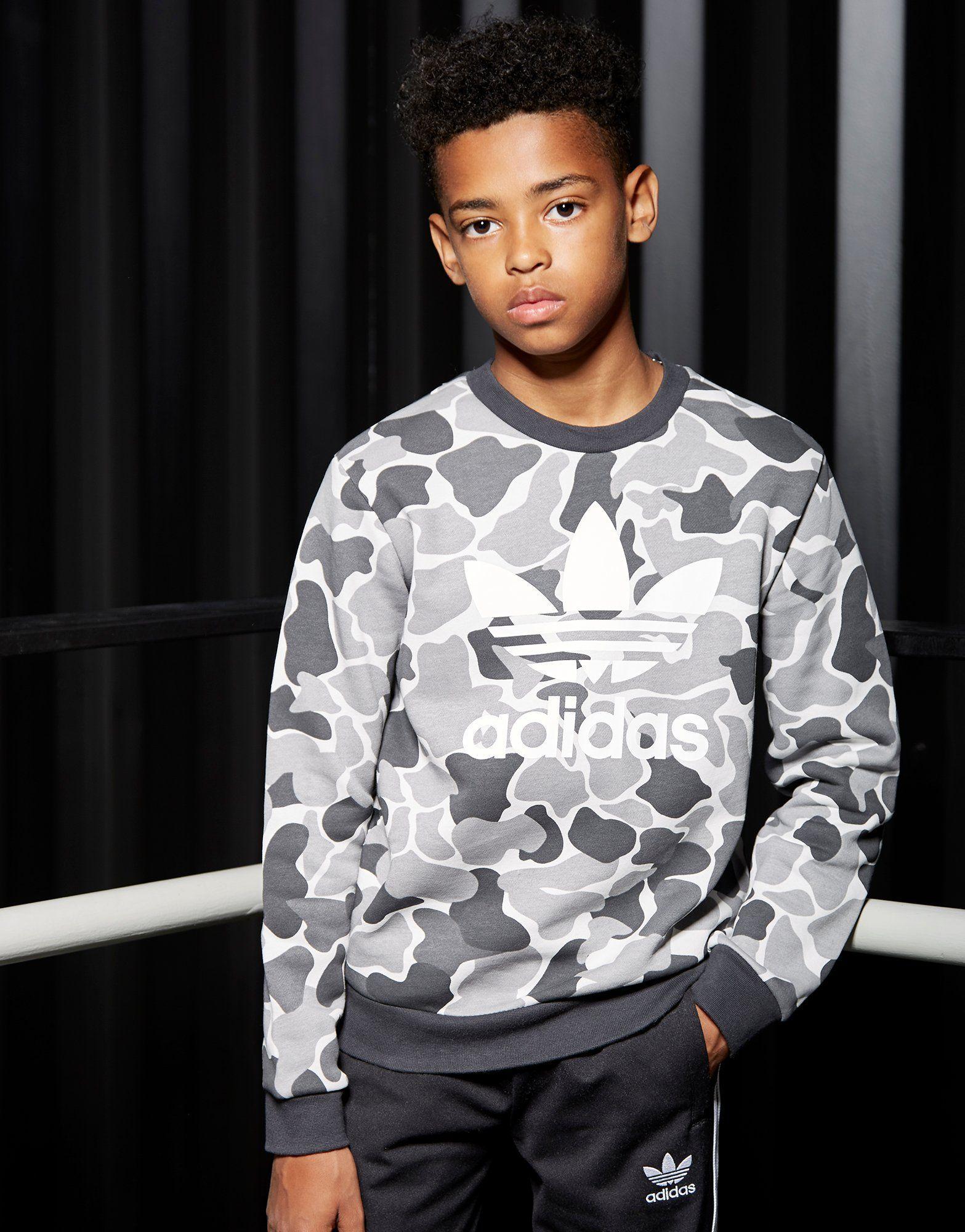 varios colores comprar bien 100% de calidad adidas Originals sudadera Trefoil Camo | Adidas & Adidas ...
