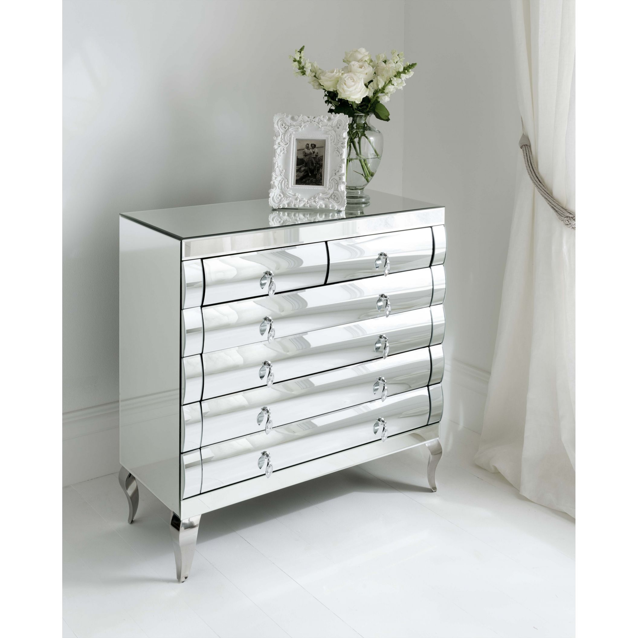 sophia and mirror table cupboard mirrored dressing cheap furniture stool