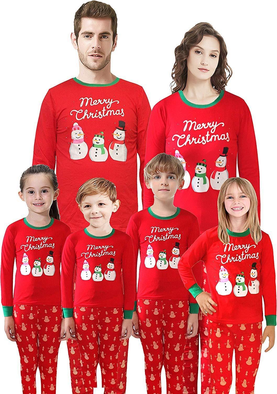 Matching Family Pajamas Christmas Santa Claus Sleepwear Cotton Kids PJs   instagood  kidsswimwear  kidslookbook  cutebabyclothes  instababies  baby  ... 0d367b39b