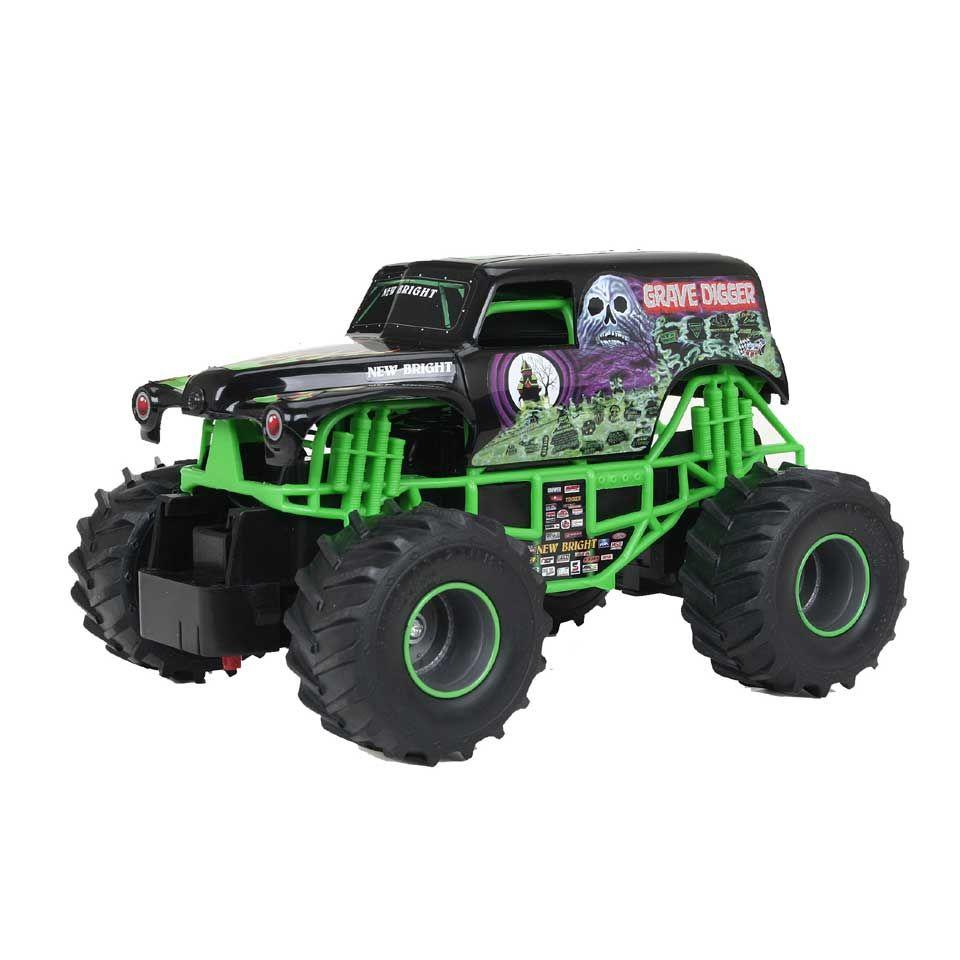 Op Afstand Bestuurbare F F Monster Jam Grave Digger Auto Schaal 1 24