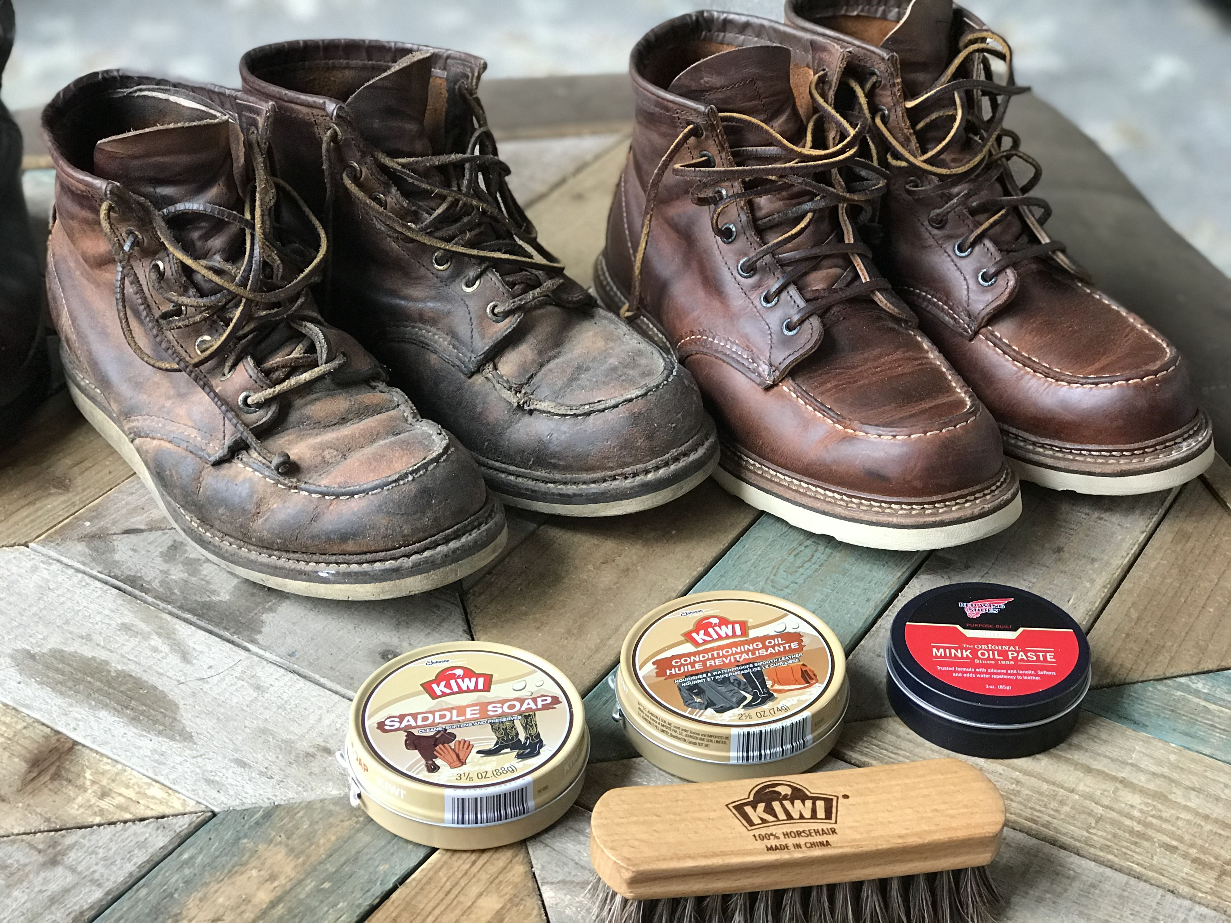cd37ef0d110 Redwing 1907 cleaning