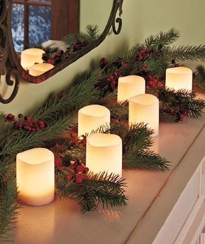 Pillar Candle Light String by HomeACCESS $4787 Lead wire, 34