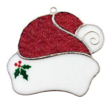 Snowhead Switchables Fused Stained Glass Ornament SF256