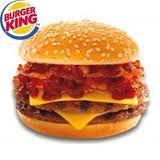 Burger King Bacon Double Cheeseburgers I Love