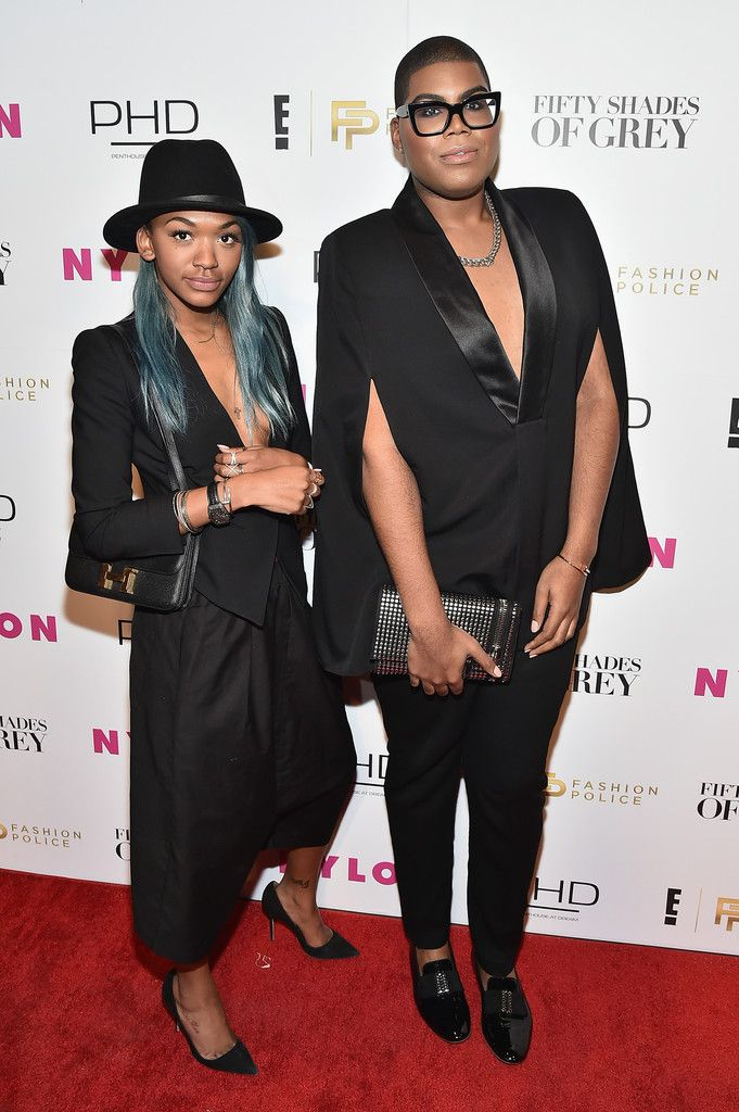 ej johnson | EJ Johnson and Elisa Johnson Photos - E! Fashion Police And NYLON ...
