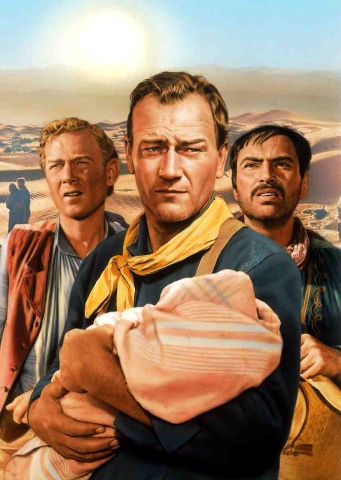 John Wayne - The Three Godfathers - is a great Christmas movie ...