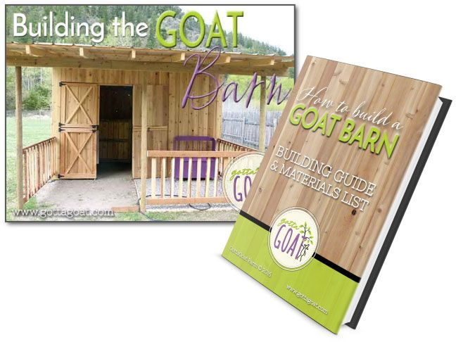 Our New EBook Is Now Available For How We Built Cute Little Goat Barn At GottaGoat Farm Includes Construction Information And Detailed Materials List