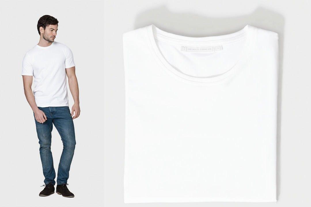 The White T Shirt Co - Basic White TShirt | FORMATOS | Pinterest ...