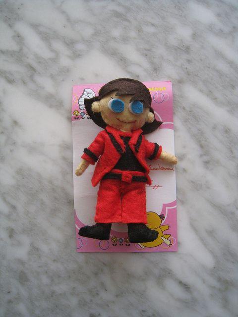 Broche Fieltro Mini Eva Michael Jackson Moonwalker by AnnaJoi - www.annajois.es