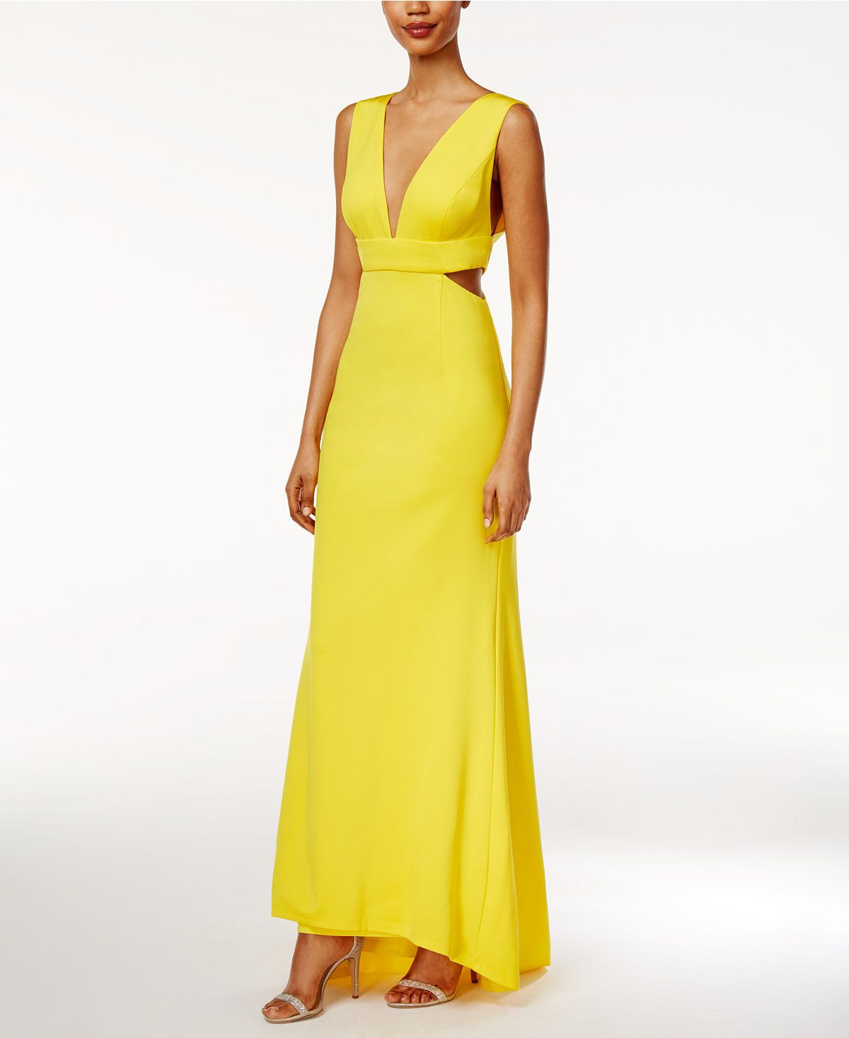 86e30be99c9 Adrianna Papell V-Neck High-Low Gown - Dresses - Women - Macy s