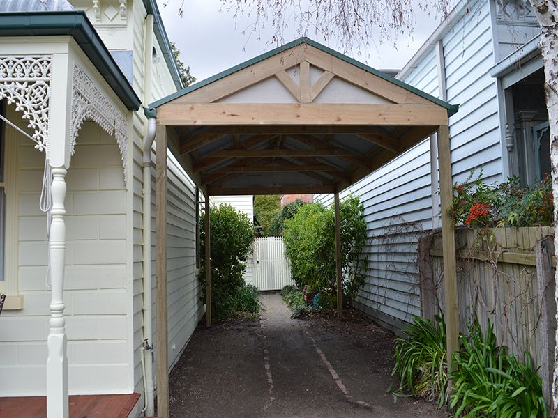 Carports available with different designs, sizes and