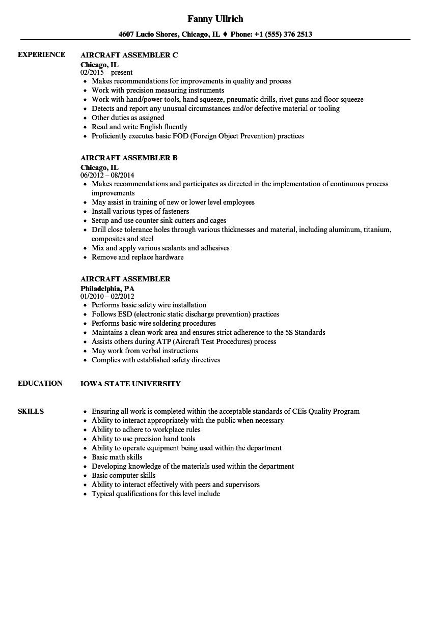 Computer Technician Resume Skills Unique Cover Letter Aviation Mechanic Cool Sample Job Fer Template