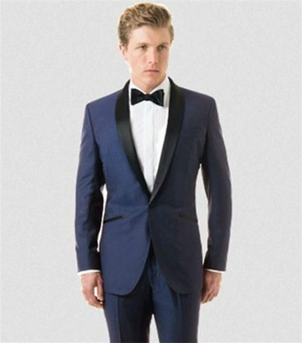 Newly Arrive Solid Royal Blue Tuxedo Elegant Suit For Men Wedding ...