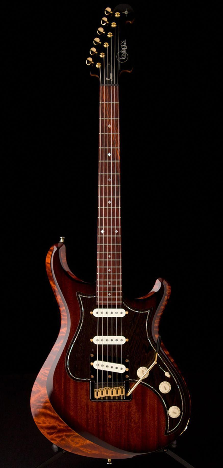Fender Stratocaster Guitars Guitar Center >> Knaggs Severin Tier 1 In Aged Scotch Guitar Center Prsguitars