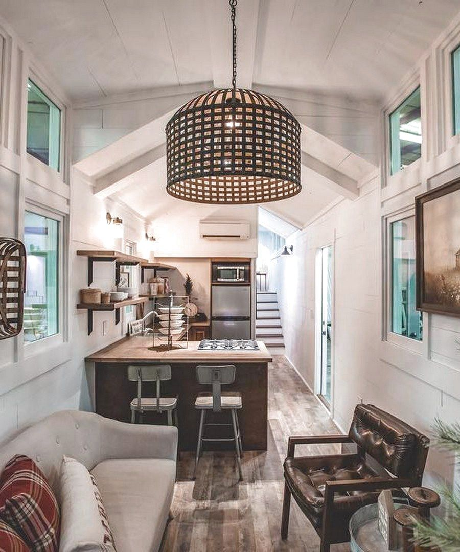 ✔48 Favourite Tiny House Design Ideas #FavouriteTinyHouseDesignIdeas #TinyHouseDesignIdeas #tinyhousekitchens