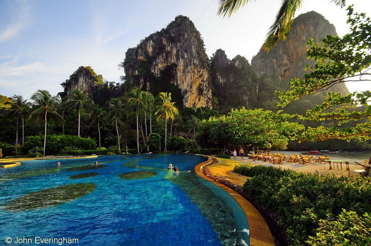 Railay Beach Krabi Thailand Most Beautiful Resorts