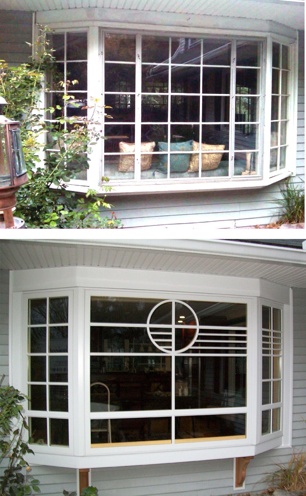 Bay Window Transformation Using A Custom Grid Pattern From Marvin