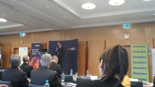Jon Hill, Country Manager CZ, speaking at the 3rd Annual ABSL Conference in Prague about our new Candidate Survey. The main topic: Changing landscape of HR in CZ Business Services